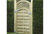 Arched Lattice Gate